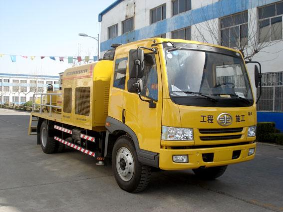 车载式混凝土输送泵