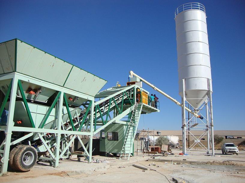 YHZS40移动式混凝土搅拌站