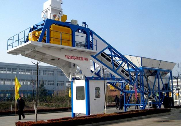 YHZS60移动式混凝土搅拌站