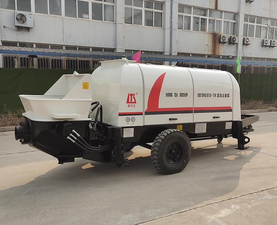 拖式混凝土输送泵